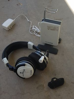 Turtle beach earforce x41 gaming headset with stereo adapter for Xbox one for Sale in Phoenix, AZ