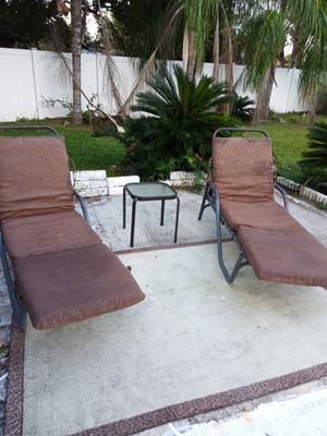 Patio furniture lounge chairs for Sale in Orlando, FL