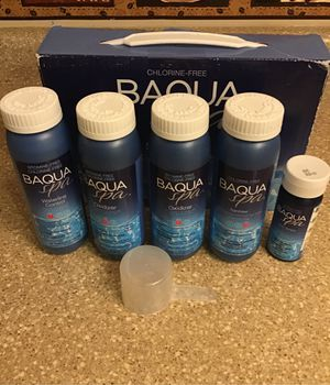 Baqua Spa Start-Up Kit Chlorine Free for Sale in Chicago, IL