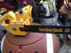 """WEN ELECTRIC CHAINSAW LUMBERJACK 16"""" 3 HP for Sale in Portland, OR"""