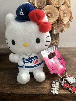 Hello Kitty Dodger Plush and keychain for Sale in La Mirada, CA