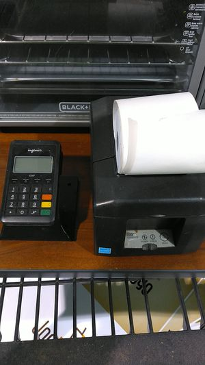 card reader and printer bluetooth for Sale in BETHEL, WA