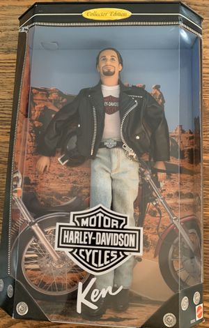Harley Davidson motorcycles collectors edition Barbie Ken doll for Sale in Lakewood, CA
