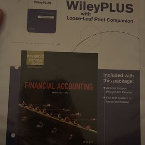 Financial Accounting 10th Edition for Sale in San Jose, CA