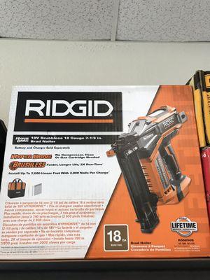 Ridgid Brad Nailer for Sale in Lakeland, FL