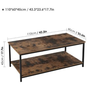 Homfa industrial coffee table (NEW) for Sale in Las Vegas, NV
