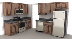 Kitchen cabinet for Sale in Fairfax, VA