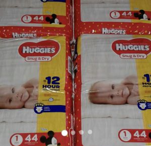 Huggies diapers size 1 for Sale in Philadelphia, PA