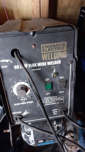 Chicago electric 90 amp flux wire welder for Sale in Spring Hill, FL
