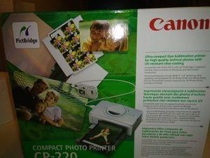 Canon compact photo printer for Sale in Laurel, DE