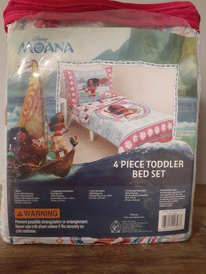 Disney Moana 4Pc Toddler Bedding Set for Sale in Kernersville, NC