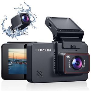 📷 $75 Brand New In Box D4 4K Dual Dash Cam with Built-in Wi-Fi GPS for Sale in Everett, MA