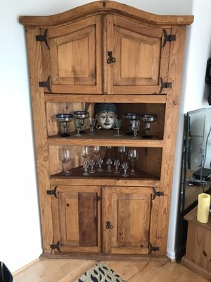 Mexican corner cupboard for Sale in Dana Point, CA
