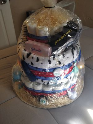 Toy Story theme baby shower pamper cake for Sale in Revere, MA
