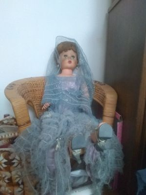 Large sitting antique American made doll for Sale in Aurora, CO