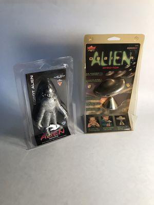 Alien toy Lot- Robot Alien & Gyro-Top for Sale in Boynton Beach, FL