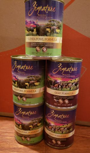 Canned Dog Food zignature for Sale in Santa Fe Springs, CA
