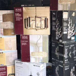 Tengo Muchas Lamparas De Lujo Preciosas A Solo $110 Cada Una & Abanicos Led De Control $95 for Sale in Glendale, AZ