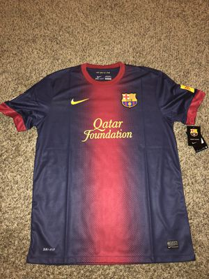 FC Barcelona 2012-2013 Official Home Jersey for Sale in Roselle, IL
