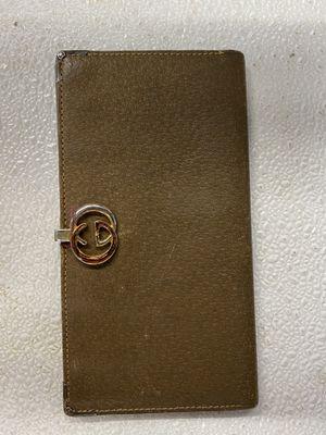 Vintage Gucci checkbook wallet for Sale in Atlanta, GA