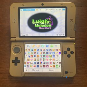 Modded 3ds xl 128gb 70+ games pre installed for Sale in Adelphi, MD
