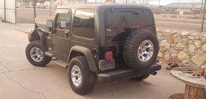03 jeep wrangler tj auto parts for Sale in El Paso, TX