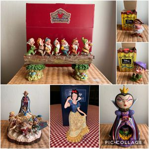 Brand new Disney Snow White Figurine collection (individually priced in details for Sale in Soquel, CA