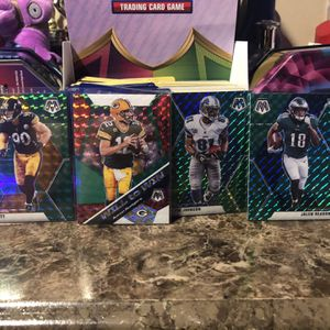 4 Green Mosaic Football Cards for Sale in Gaithersburg, MD