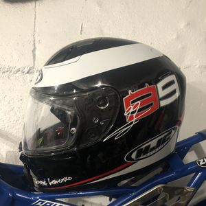 Hjc motorcycle helmet Jorge Lorenzo edition Brand New in the box ! for Sale in Brooklyn, NY