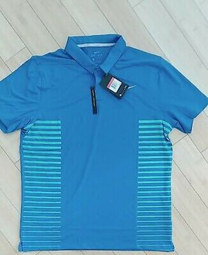 Nike Golf Dri Fit Men's Polo Shirt Blue Short Sleeves for Sale in Fairfax, VA