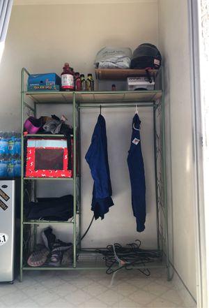 Portable closet for Sale in San Jose, CA