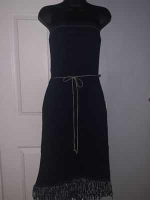 Denim tube dress size small for Sale in Lithonia, GA