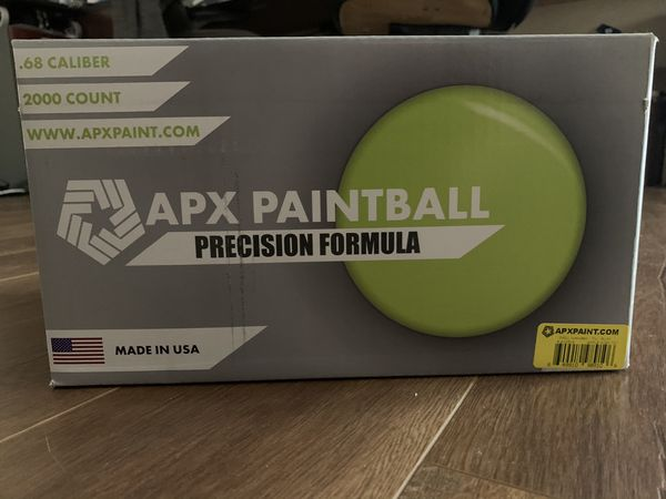 APX PAINTBALL 2000 count .68