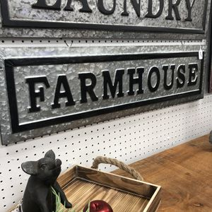 """Brand New Metal Farmhouse Sign (Dimensions: 36""""x10"""") for Sale in North Las Vegas, NV"""