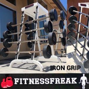 Iron Grip Fixed Bars with or without stand for Sale in El Cajon, CA