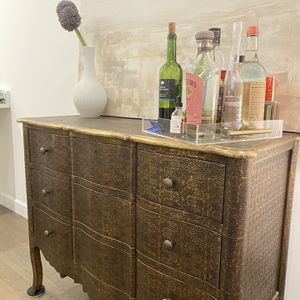 Arhaus Gold Dresser for Sale in New York, NY
