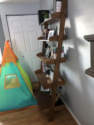 Leaning book shelf for Sale in Walkersville, MD