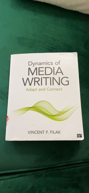 Dynamics of Media Writing Adapt and Connect - Filak for Sale in Denton, TX