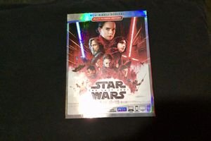 Star Wars The Last Jedi DVD like new for Sale in Downey, CA