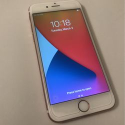 iPhone 6s T Mobile Metro 16 Gb Good Condition Color Rose Gold for Sale in San Bernardino,  CA