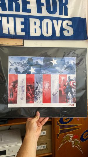 Captain America Drawing for Sale in Spring Valley, CA