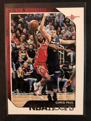 Chris Paul 2018 NBA HOOPS Basketball Card. Chris Paul Houston Rockets Basketball Trading Card for Sale in Chicago, IL