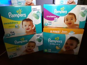 Pampers all sizes for Sale in Mesa, AZ