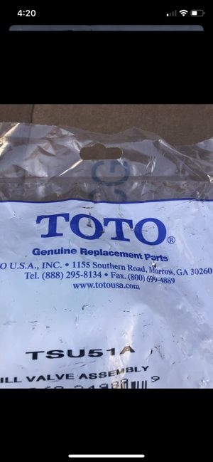 Toto parts Valve for Sale in Washington, DC