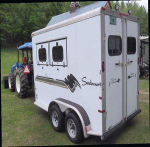 AN AWESOME 2 HORSE TRAILER FOR SALE. $1OOO for Sale in Turtle Lake, ND