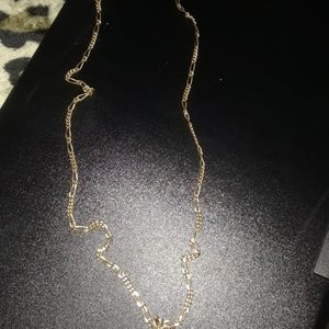 GOLD PLATED LINK CHAIN WITH PENDANTz for Sale in Loma Linda, CA