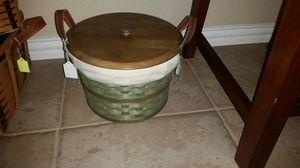 Longaberger Medium Bushel basket set for Sale in Mansfield, TX