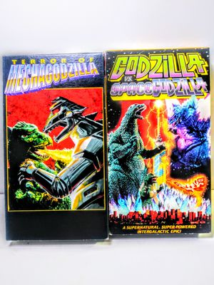 Vintage Godzilla VHS Movies for Sale in Garland, TX