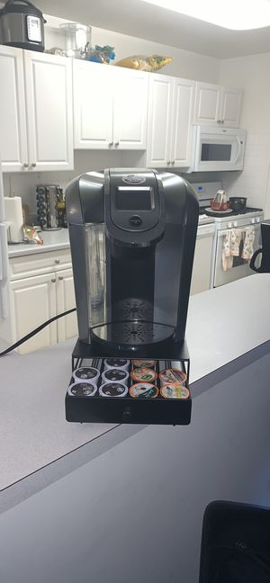 Keurig 2.0 and K-cup stand for Sale in San Rafael, CA