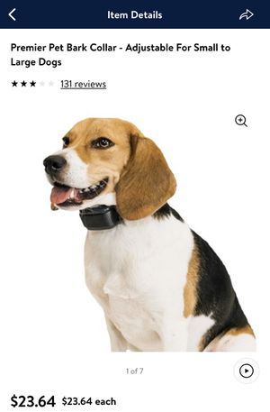 Premier Pet Bark Collar - Adjustable For Small to Large Dogs🔥🔥🔥 for Sale in Houston, TX